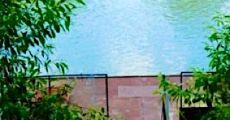 Horgásztanya az élő Tisza-parton 6 fős házikó kiadó stéggel csónakkal