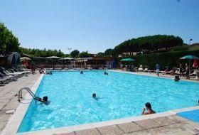 Olaszország Lido di Dante medencés, klímás 5 +1 fős mobilházak kiadók