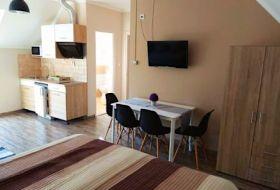 Álom Apartman Hajdúszoboszló igényesen berendezett apartmanokkal várja