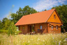 Önálló gerendaház az Őrségben, nyugalmas helyen, természetközelben