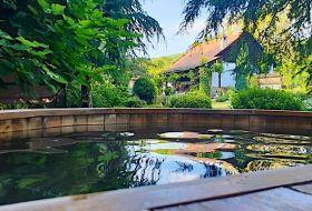 Siklósi vendégház 7 fő részére kerti dézsafürdővel