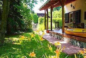 Önálló kertes nyaraló Badacsonyban tulajdonos és más vendég nélkül